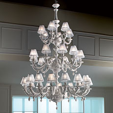 24-28-32 light ceramic chandelier