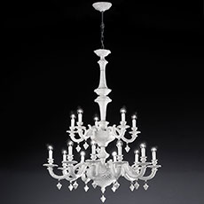 12-15 light ceramic chandelier