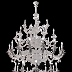48 light ceramic chandelier
