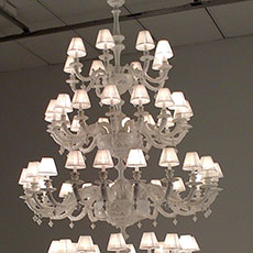 72 light ceramic chandelier