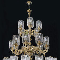 Palladio Luxury ceramic chandelier