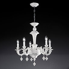 5-6 light ceramic chandelier