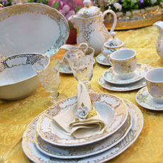 Salisburgo dinnerware set