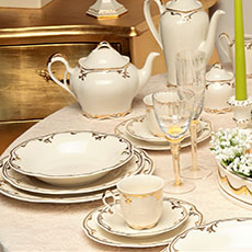 Rubino dinnerware set